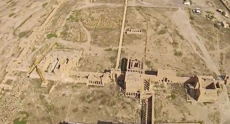 Les forces progouvernementales reprennent la cité de Hatra à l'EI