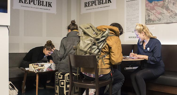 Récolte de fonds à succès: le magazine en ligne Republik sera lancé