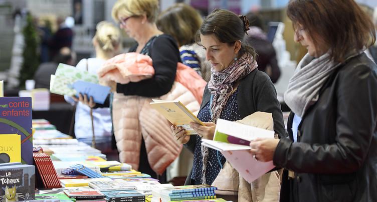 Le Salon du livre de Genève ouvre ses portes