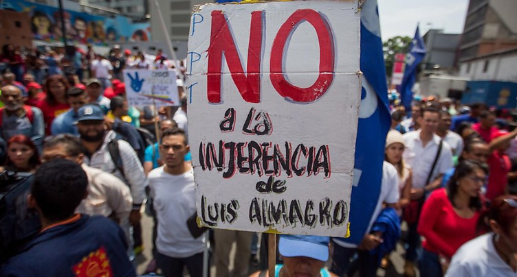 Caracas annonce son retrait de l'Organisation des Etats américains