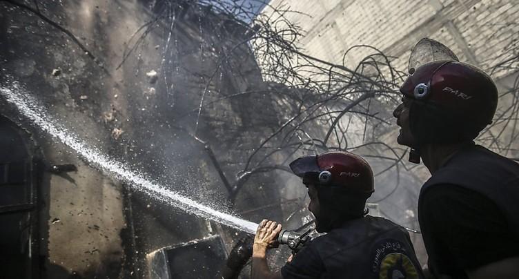 Forte explosion près de Damas, probablement due à un raid israélien