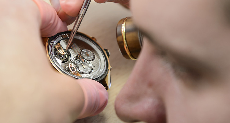Première hausse des exportations horlogères depuis 20 mois