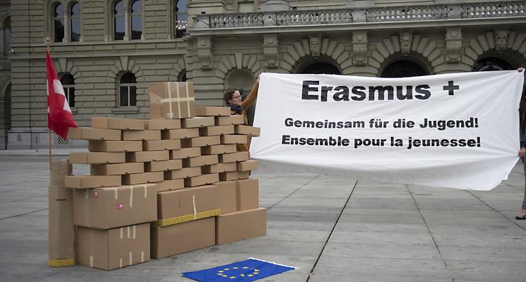 La Suisse ne retournera pas dans le giron d'Erasmus+ avant 2021