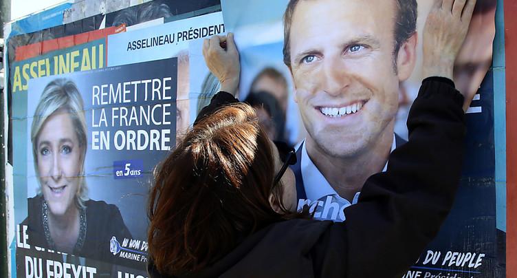 Europe, Nation: Macron et Le Pen poursuivent leur affrontement