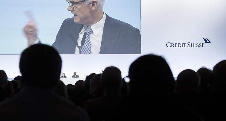 Credit Suisse peut s'attendre à une assemblée générale non apaisée