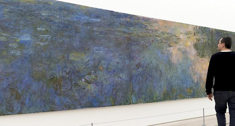 Plus de 200'000 visiteurs pour l'exposition « Monet » à Riehen (BS)