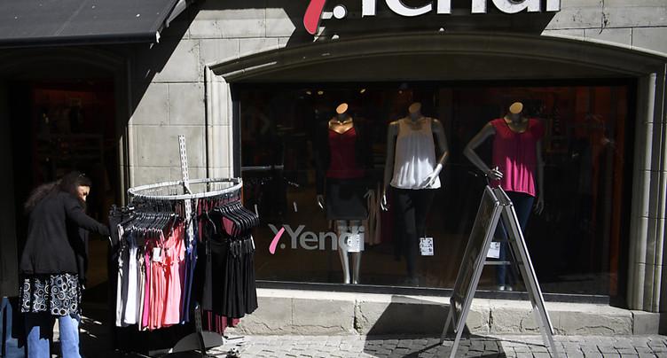 Faillite prononcée pour la chaîne de mode Yendi