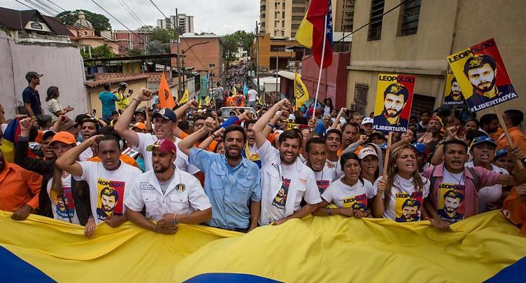 Venezuela: manifestation pour libérer les « prisonniers politiques »