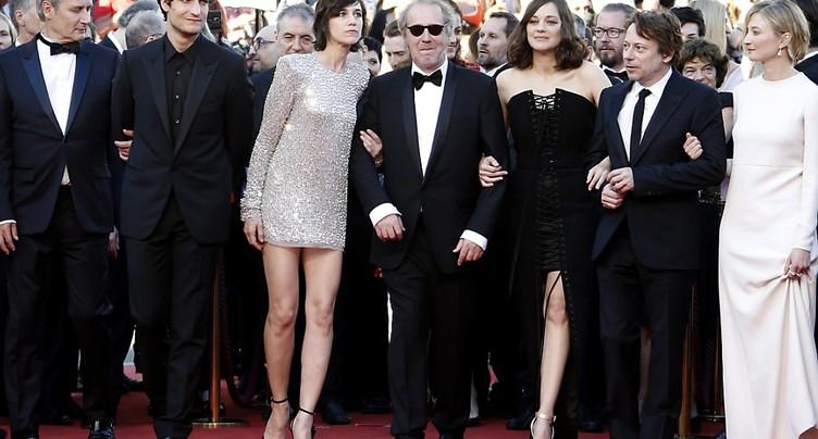 Cannes: première montée des marches