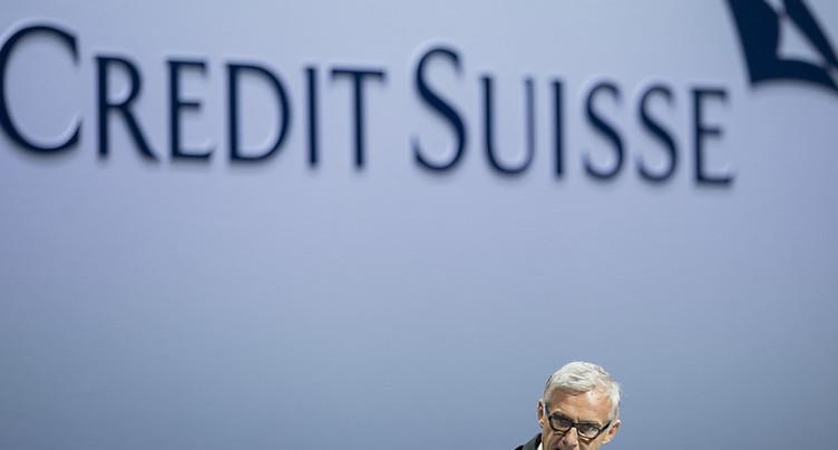 Credit Suisse défend l'option de l'augmentation de capital