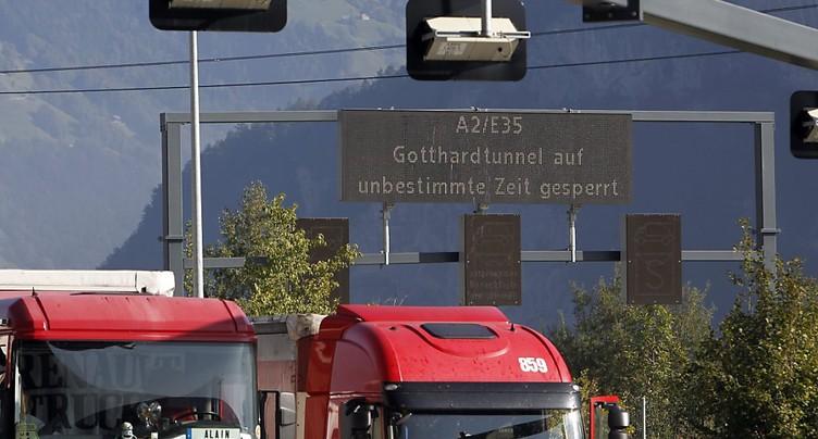 L'initiative des Alpes veut un meilleur contrôle des camions