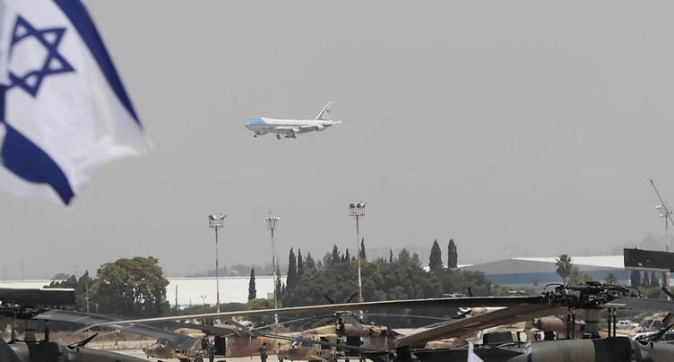 Donald Trump est arrivé en Israël, deuxième étape de son voyage