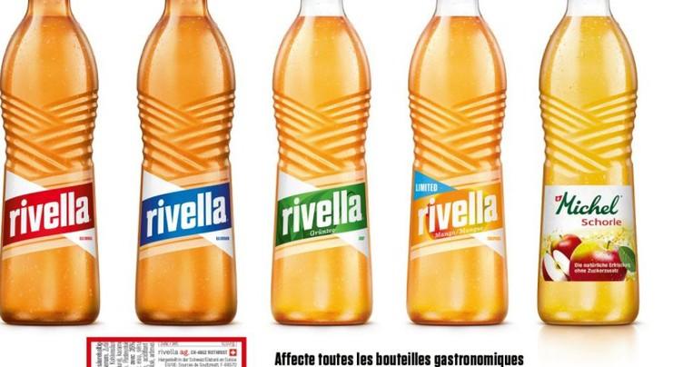 Rivella rappelle des bouteilles en verre