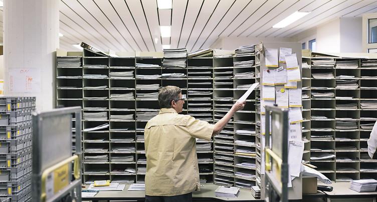 76 filiales de la Poste en sursis dans le canton de Berne