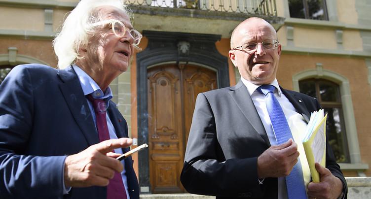 Le parlementaire Jean-Luc Addor jugé pour discrimination raciale