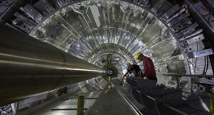 Les collisions de protons redémarrent au sein du LHC