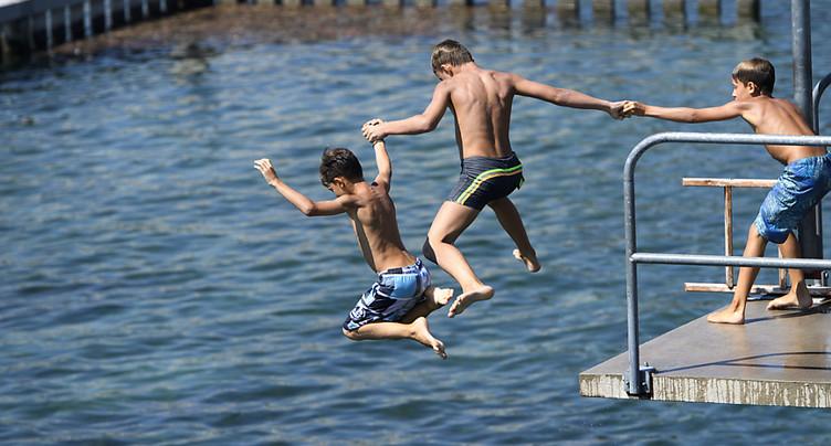 En Suisse et en Europe, les sites de baignade sont de bonne qualité