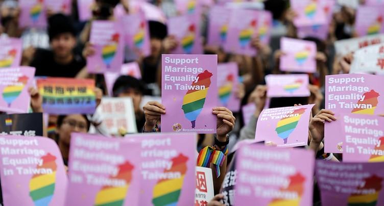 La justice taïwanaise rend une décision historique en faveur du mariage gay