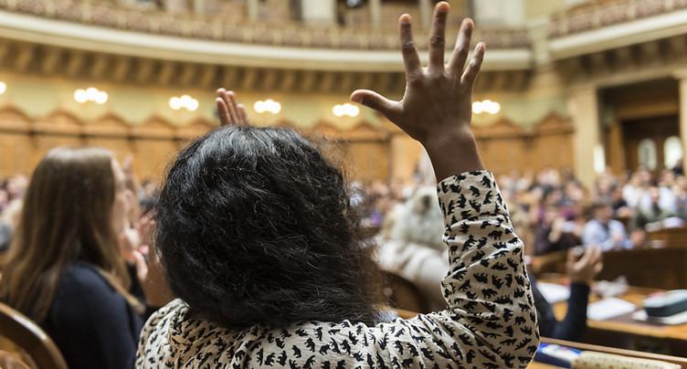 La Session des jeunes est importante pour le Conseil fédéral