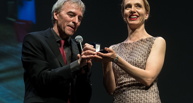 L'Anneau Hans Reinhart 2017 remis à Ursina Lardi