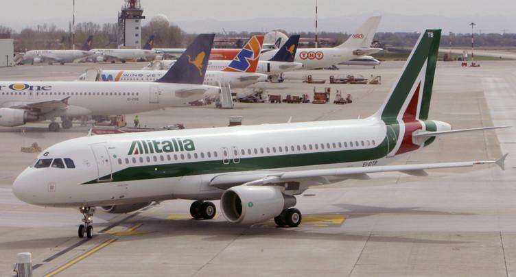 Alitalia: 1358 membres du personnel mis au chômage technique