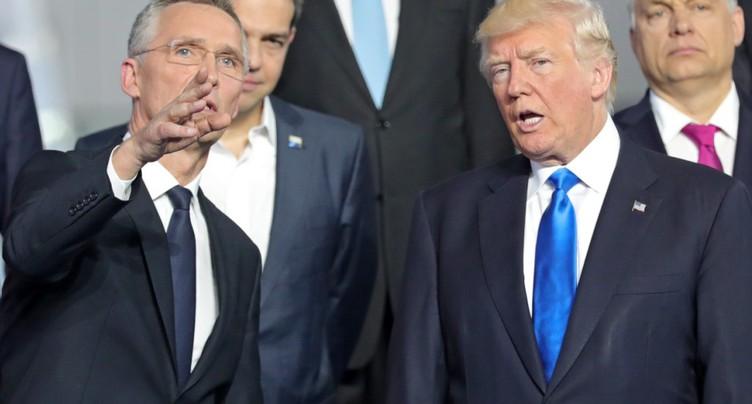 M. Trump dénonce les pays « qui doivent d'énormes sommes d'argent »