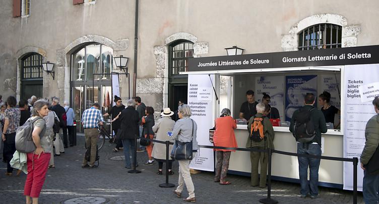 Les 39e Journées littéraires s'ouvrent à Soleure jusqu'à dimanche