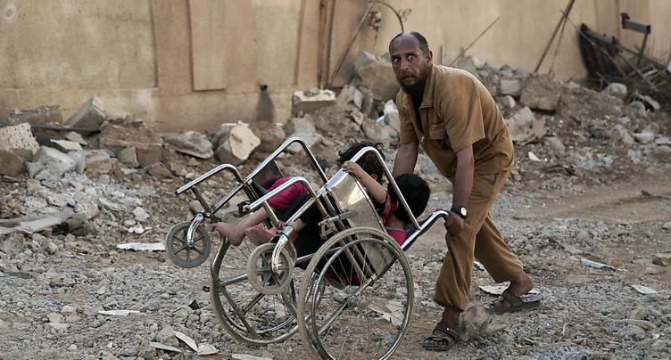 Offensive sur les derniers quartiers djihadistes de Mossoul