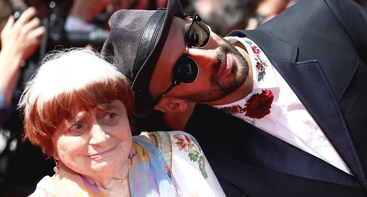 Cannes: prix du meilleur documentaire à Agnès Varda et JR