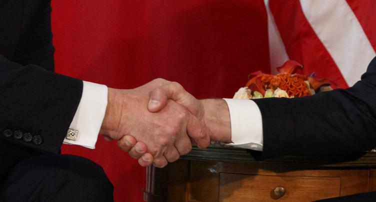 « Ma poignée de main avec Trump, ce n'est pas innocent »
