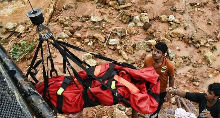 Au moins 126 morts et 500'000 déplacés dans des inondations