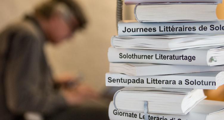 Les Journées littéraires réunissent 16'000 personnes à Soleure