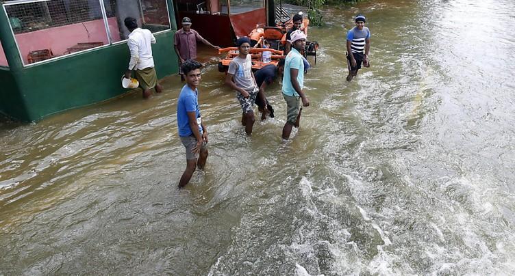 Près de 170 morts dans les inondations au Sri Lanka