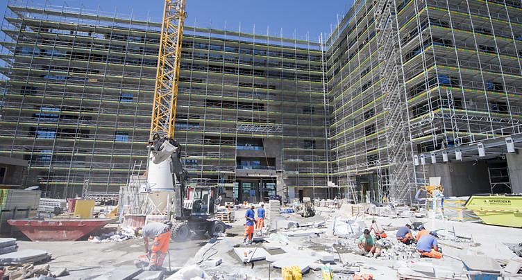 L'emploi en légère hausse en Suisse au 1er trimestre