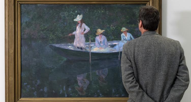 Près de 300'000 personnes ont admiré Monet à la fondation Beyeler