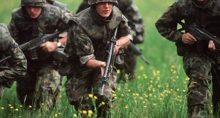 Les soldats suisses sont mieux protégés lors des tirs