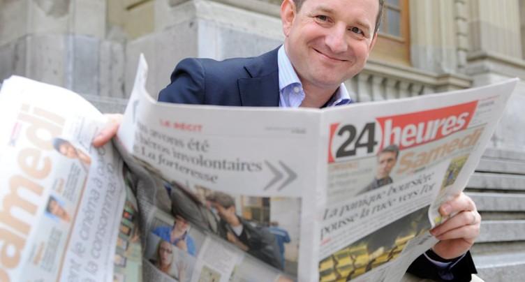 Thierry Meyer quitte la rédaction en chef de 24 heures