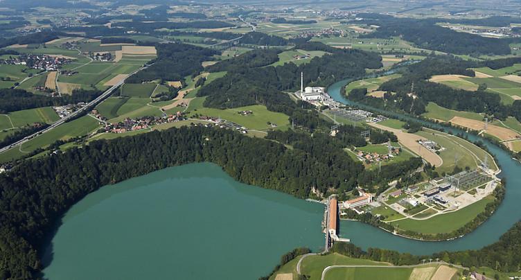 Des eaux plus froides après la fermeture de Mühleberg