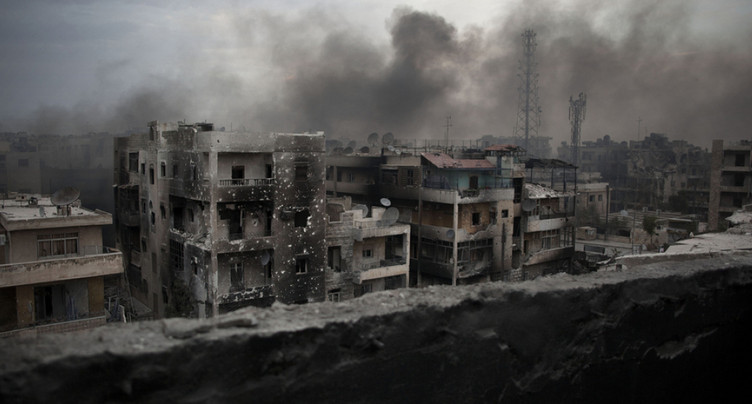 « Mon enfance détruite »: Myriam, 13 ans, raconte sa vie à Alep
