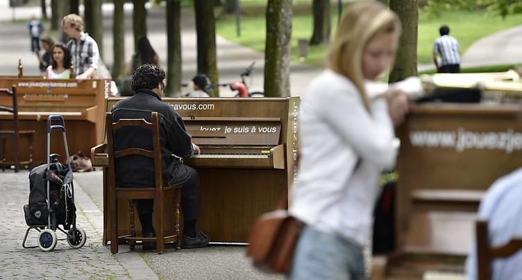 Genève et Nyon accueillent les pianos et leurs amoureux