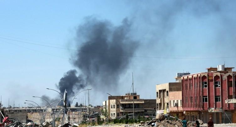 Les forces irakiennes avancent vers la mosquée de l'EI à Mossoul