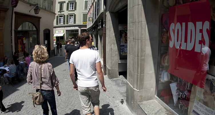 Les commerces fribourgeois pourront fermer à 17h00 le samedi