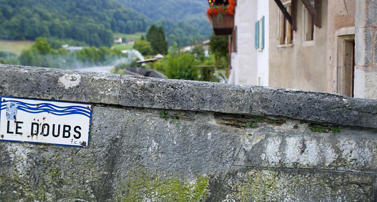 Le canton du Jura interdit la navigation sur le Doubs