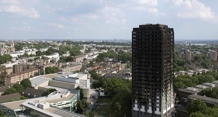 L'incendie de la tour Grenfell à Londres est parti d'un réfrigérateur