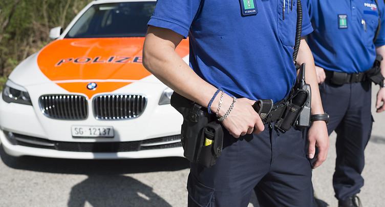 St-Gall: deux ex-policiers condamnés pour vol et revente d'armes