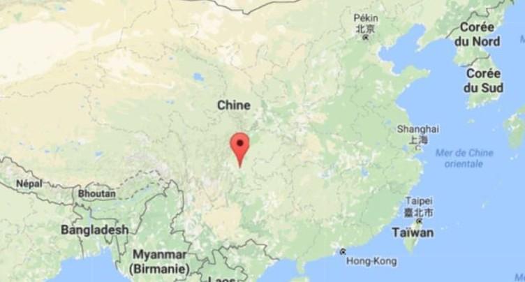 Eboulement en Chine: plus de 100 disparus, 6 corps déjà retrouvés