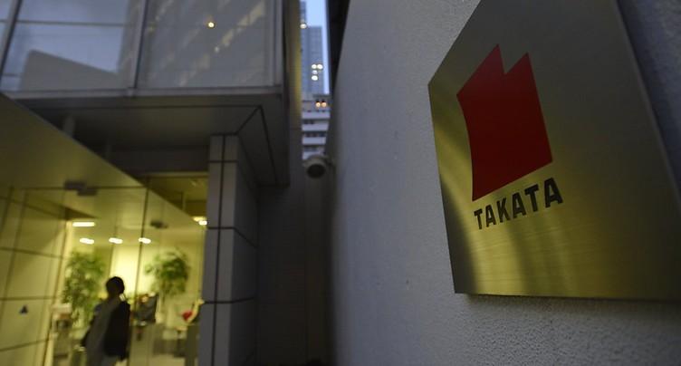 Takata, enlisé dans le scandale des airbags, dépose le bilan