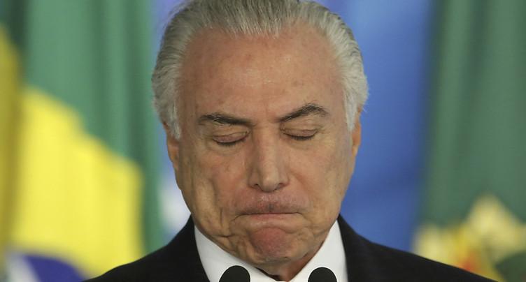 Demande de mise en accusation contre le président brésilien