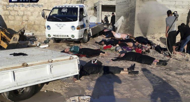 Selon Washington, la Syrie prépare une nouvelle attaque chimique