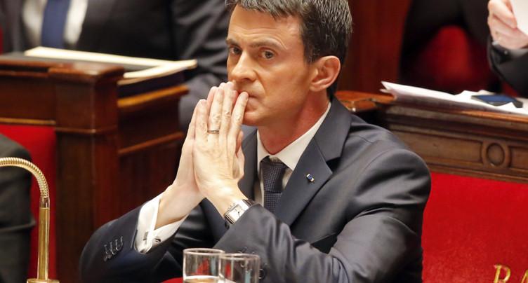 L'ex-premier ministre français Manuel Valls quitte le Parti socialiste